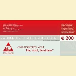 200 Euro - Gutschein