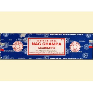 Räucherstäbchen Sandelholz – Nag Champa blau