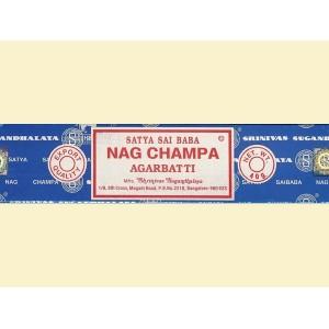 Räucherstäbchen Sandelholz Nag Champa blau