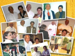 Collage von Fotos von Master Choa Kok Sui, Mag. Claudia Dieckmann und Jana Thann
