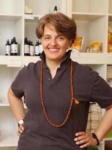 Jana Thann präsentiert sich auf der Seite Über Uns