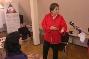 Bild Mag. Dieckmann sprich im LAA TV über Pranic Healing