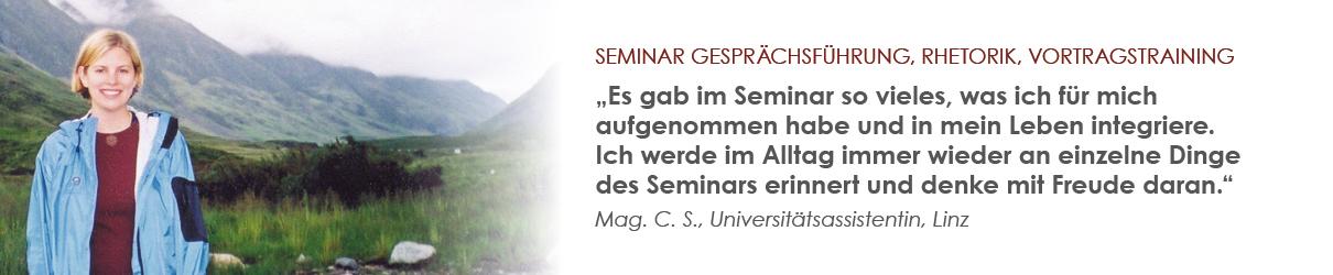 Mehr Selbstvertrauen dank Rhetorik-Seminar