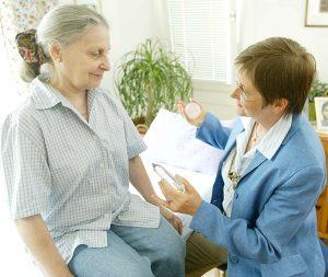 Kostenlose Prana Anwendung, Menschen in Gesundheitsberufen