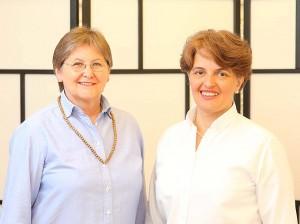 Mag. Claudia Dieckmann und Jana Thann im Institut für Energiearbeit