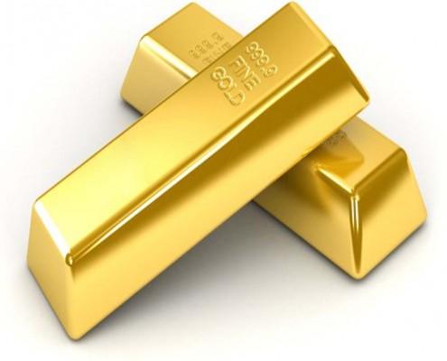Goldbarren als Symbol für Erfolg