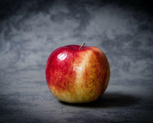 Erfolgreiches Allergien löschen einer Apfelallergie