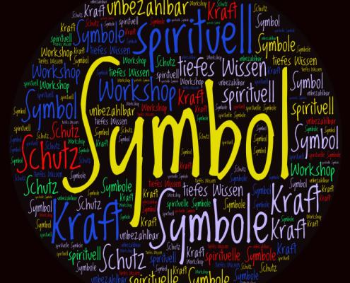 Wordcloud Bild zu einem Feedback zu Jana Thanns Seminar Spirituelle Symbole