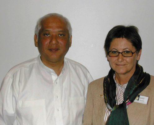 Master Choa Kok Sui und Claudia Dieckmann