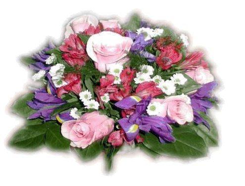 Ein Blumenstrauß als Dankeschön