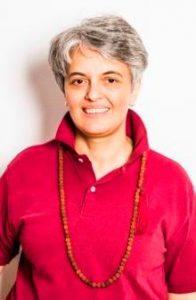 Jana Thann unterrichtet Prana Energiearbeit